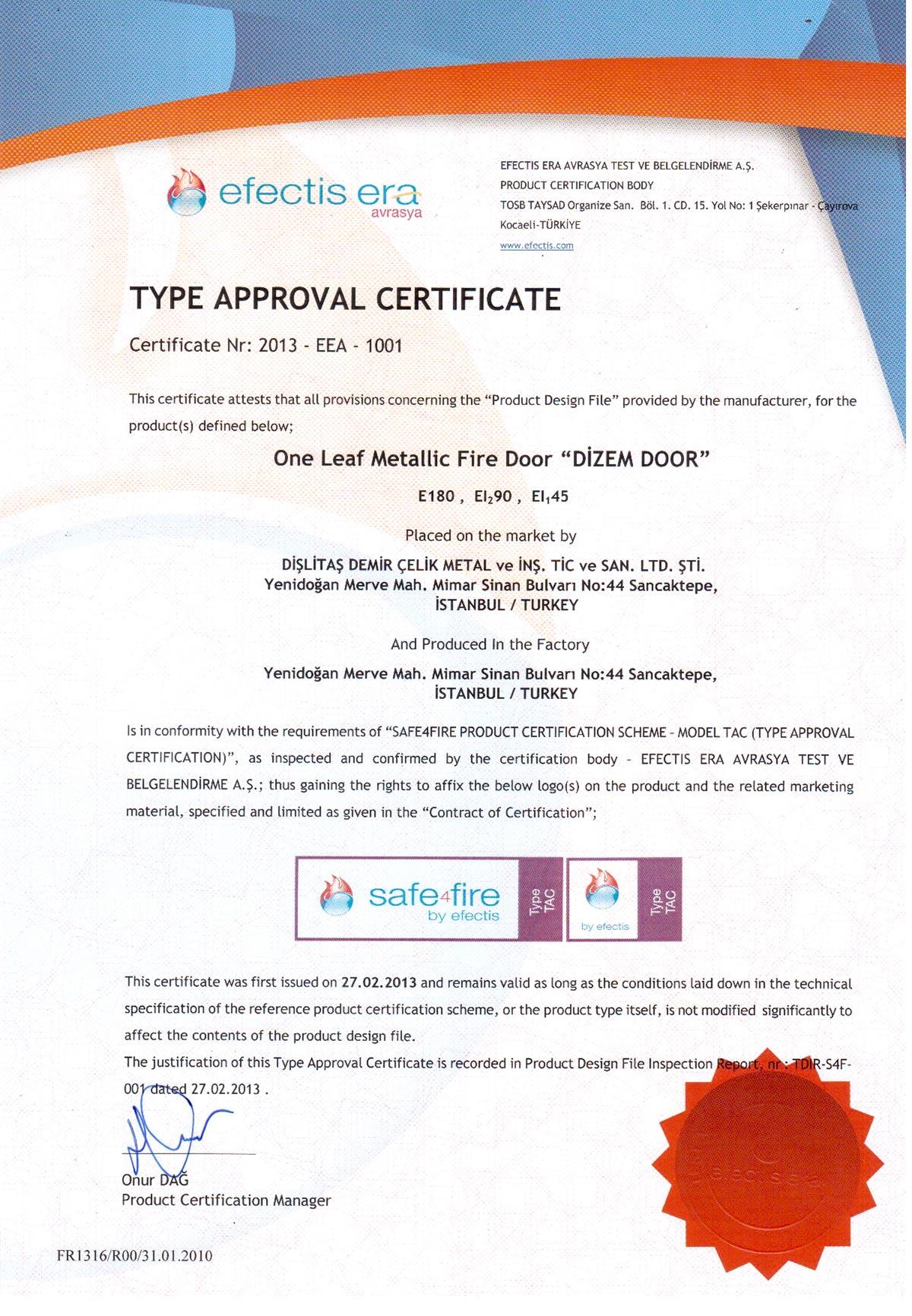3-EI90--sertifika